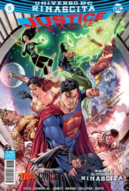 Copertina di Justice League n.5 – Rinascita
