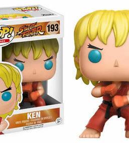 Copertina di Street Fighter Ken Attack Funko Pop 193