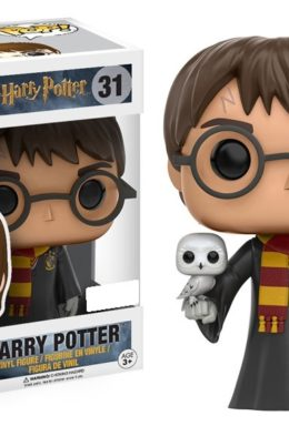 Copertina di Harry Potter Harry With Hedwig Pop