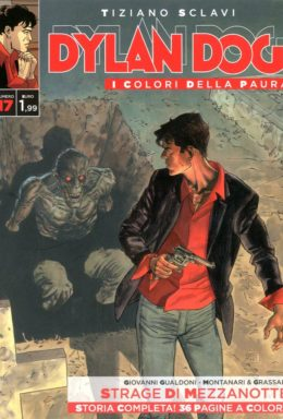 Copertina di Dylan Dog – I colori della Paura n.17