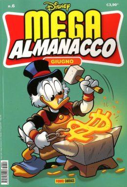 Copertina di Mega Almanacco Disney n.6 – Giugno