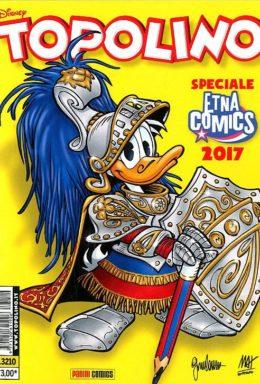 Copertina di Topolino n.3210 – Variant Etna Comics