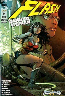 Copertina di Flash / Wonder Woman n.52 – New 52