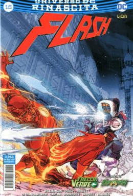 Copertina di Flash n.15 – Rinascita