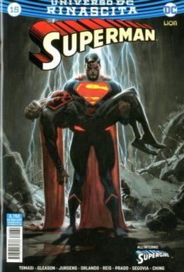 Copertina di Superman n.15 – Rinascita – Superman 130