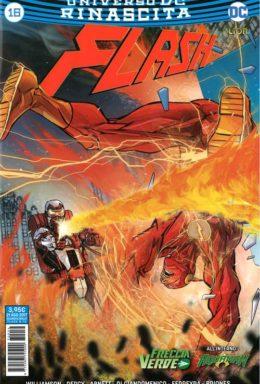 Copertina di Flash n.16 – Rinascita