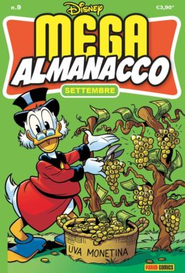 Copertina di Mega Almanacco Disney 9 – Settembre