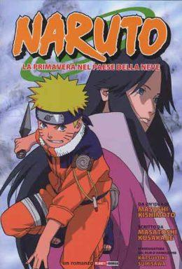 Copertina di Naruto il romanzo n.3 – La Primavera Nel Paese