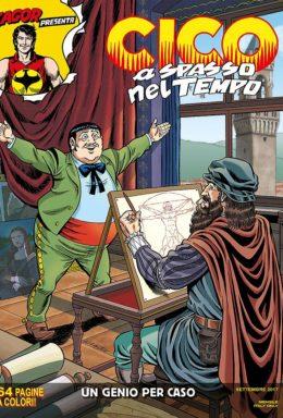 Copertina di Cico A Spasso Nel Tempo n.4 (DI 6) – Un genio per caso
