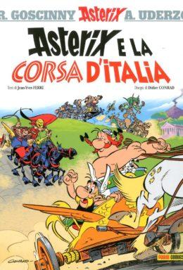 Copertina di Asterix e la corsa d'italia – Asterix 36