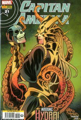 Copertina di Capitan America n.91 – Madame Hydra!