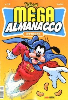 Copertina di Mega Almanacco Disney n.10 – Ottobre