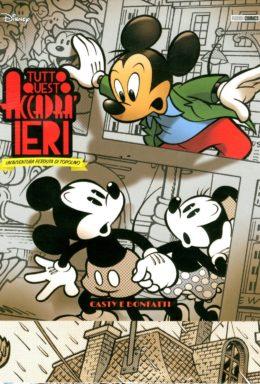 Copertina di Tutto Questo Accadrà Ieri – Topolino Super Deluxe Edition 4
