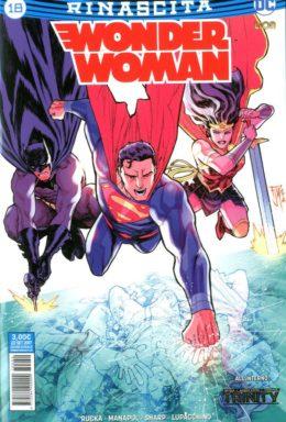 Copertina di Wonder Woman n.18 – Rinascita