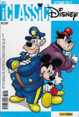 Copertina di I Classici Disney n.491 – Ottobre 2017