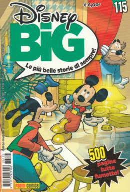 Copertina di Disney Big n.115 – Novembre 2017