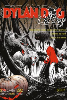 Copertina di Dylan Dog Maxi Tre Storie n.31 – Old boy