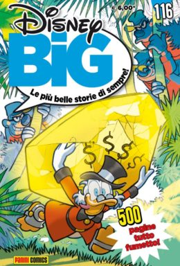 Copertina di Disney Big n.116