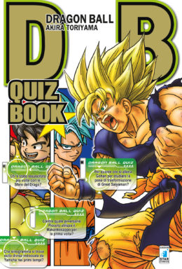 Copertina di Dragon Ball Quiz Book