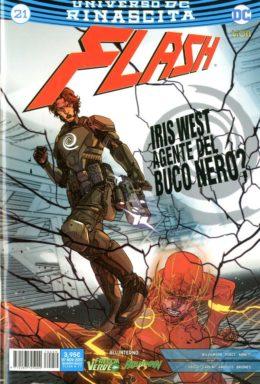 Copertina di Flash n.21 Rinascita – Flash 77
