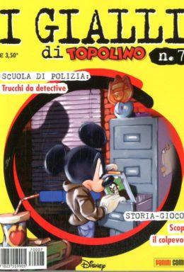 Copertina di I Gialli Di Topolino n.7