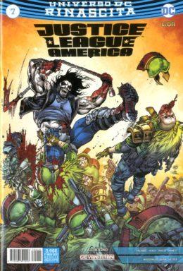 Copertina di Justice League America n.7 – Rinascita