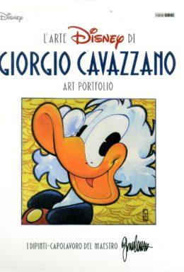 Copertina di L'arte Disney – Cavazzano Portfolio – Topogol 18