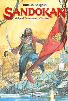 Copertina di Sandokan n.1 – La tigre di Mompracem e altre Storie