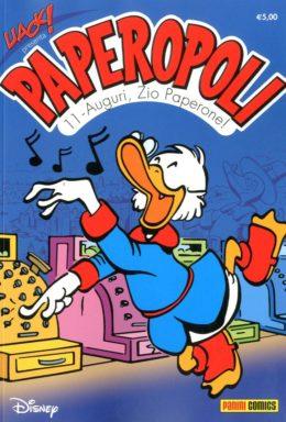 Copertina di Uack! n.34 – Paperopoli 11 – Auguri Zio Paperone