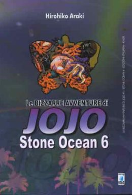 Copertina di Stone Ocean n.6 – Le bizzarre avventure di Jojo