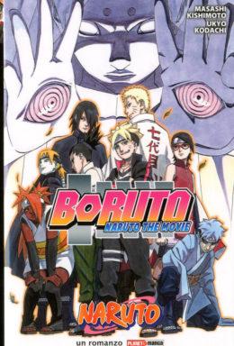 Copertina di Boruto – Naruto The Movie – Romanzo