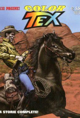 Copertina di Color Tex n.8 – Minaccia nella tenebre e altre storie