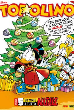 Copertina di Topolino n.3239 – 20 Dicembre 2017