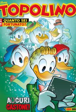 Copertina di Topolino n.3242 – 10 Gennaio 2018