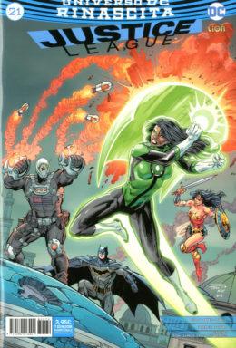 Copertina di Justice League n.21 – Rinascita Justice League 79
