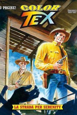 Copertina di Color Tex n.7 – La strada per Serenity