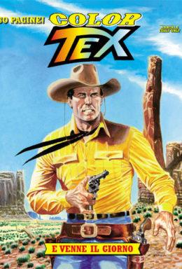 Copertina di Color Tex n.1 – E venne il giorno