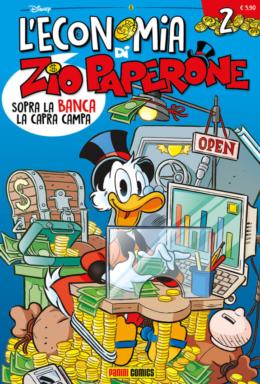 Copertina di L'economia Di Zio Paperone n.2
