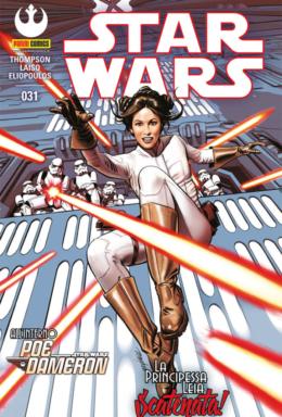 Copertina di Star Wars n.31 – La principessa Leia scatenata!