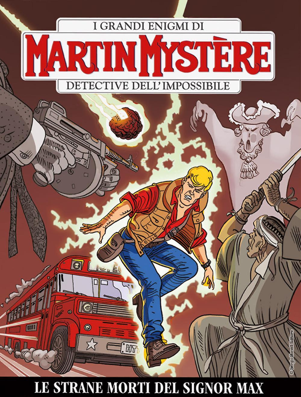 Martin Mystere n.355 – Le strane morti del signor Max