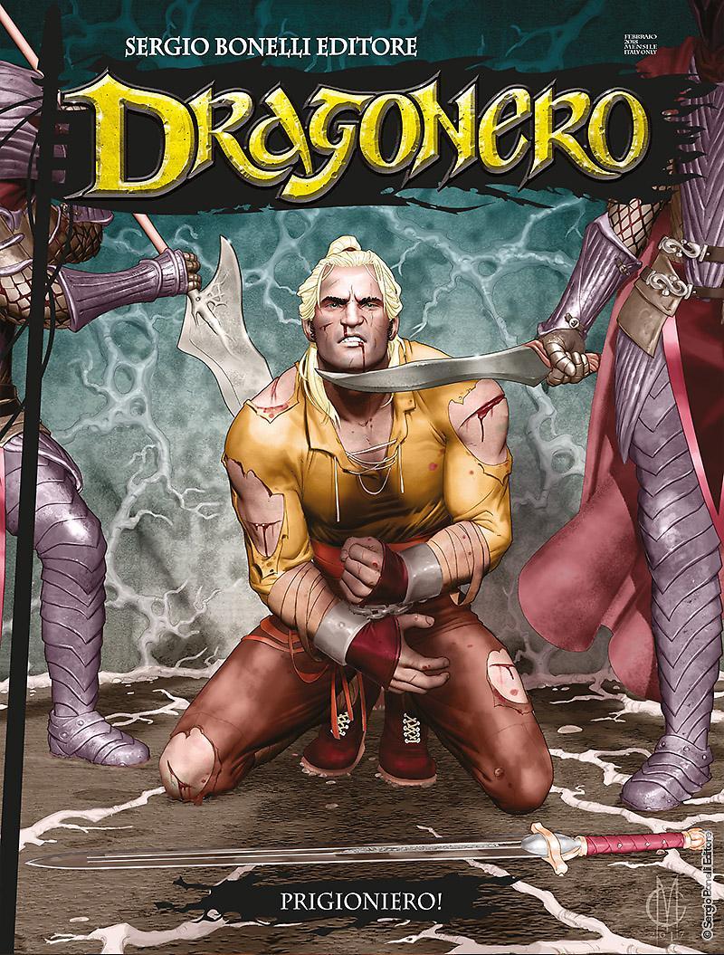 Copertina di Dragonero n.57 – Prigioniero!