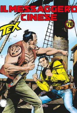Copertina di Tex n.688 – Il messaggero cinese