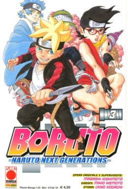Copertina di Boruto: Naruto Next Generation n.3 – Manga Planet 129