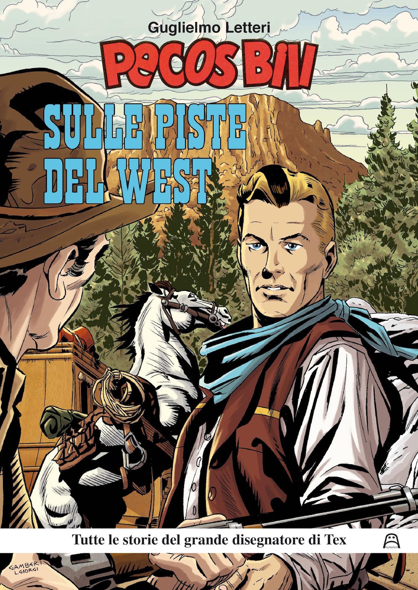 Copertina di Pecos Bill – Sulle Piste del West