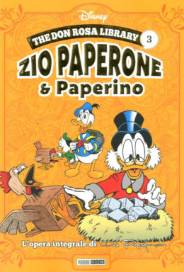 Copertina di Don Rosa Library n.3 – Zio Paperone e Paperino