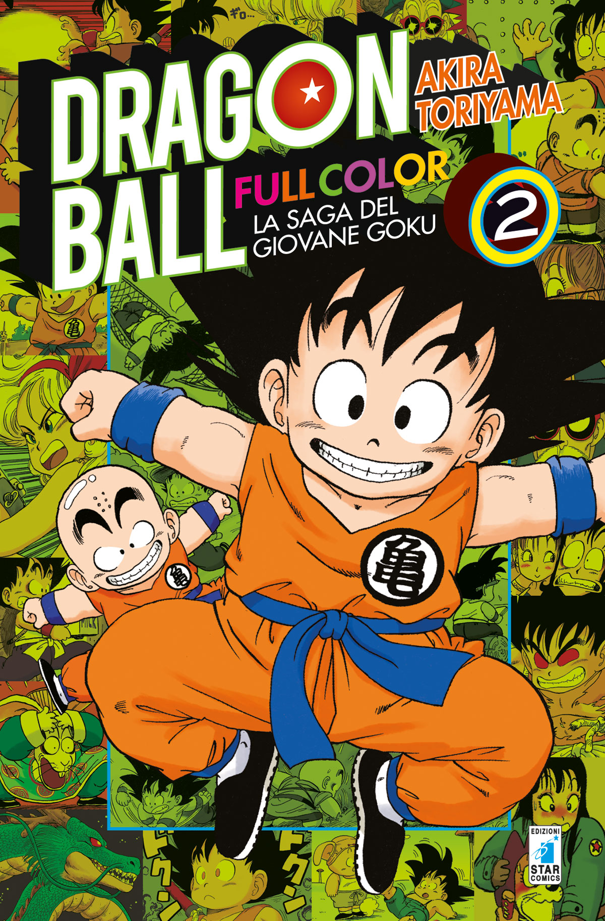 Dragon Ball Full Color n.2 (DI 8) – La saga del giovane Goku