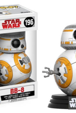 Copertina di Star Wars Episode 8 – The Last Jedi – Bb-8 – Funko Pop Vinil n.196