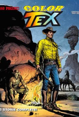 Copertina di Color Tex n.10 – 5 Storie Complete