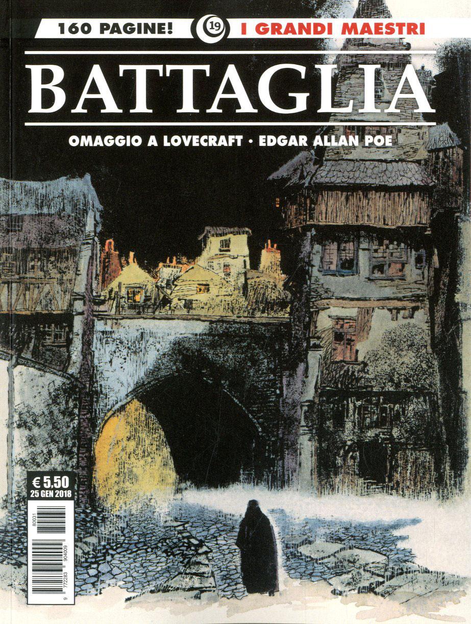 Copertina di Dino Battaglia – Edgar Allan Poe – I grandi maestri 19