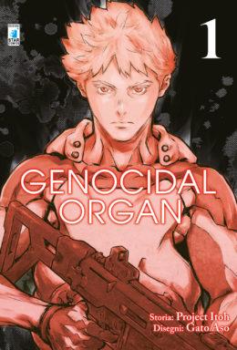 Copertina di Genocidal Organ n.1 – Techno 281